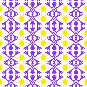 Purple Lizards Gold Sun
