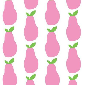 pears pink