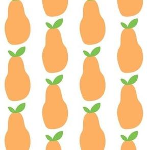 pears orange