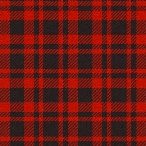 Red Black Plaid Wallpaper Jandq0306 Spoonflower