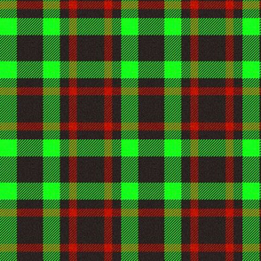 Black/Green/Red Plaid 2