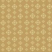 Diamond  Flower Gold