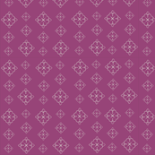 Diamond Flower Purple
