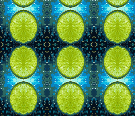 Bubbly-Lime fabric by mammajamma on Spoonflower - custom fabric