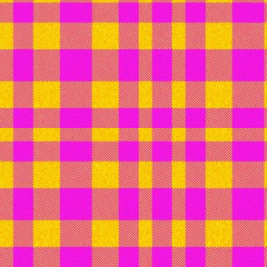 Pink/Yellow Plaid