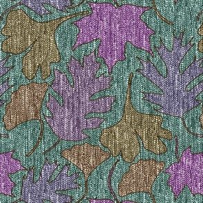 Falling-Leaves3-fabric5-LUMINOSITY-over-redviolet-peri-brn-n-softsage