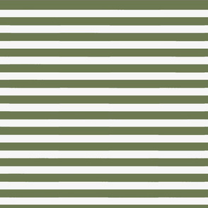 Olive Green Wide Stripe