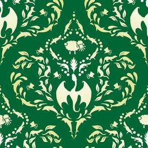 Wayward Baroque Green Large