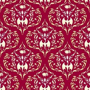 Wayward Baroque Red Small
