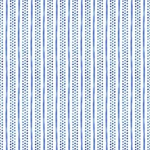 Blue Dots and Stripes