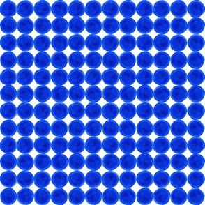 Blue Dots Grid