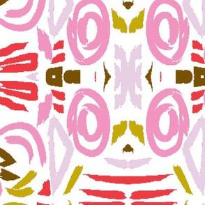 ikat pink