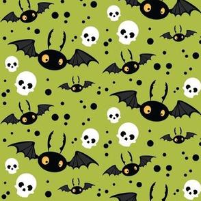 Wee Spooky Bats - Green