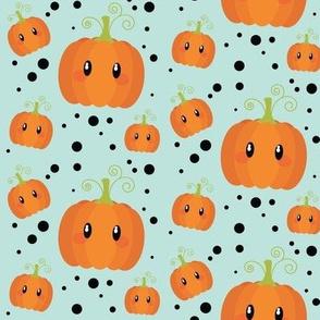 Wee Spooky Pumpkins - Mint