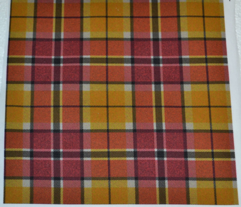 Red Yellow Black Plaid 3REV