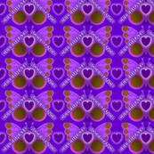 Purple Butterfly Celebrate Acceptance