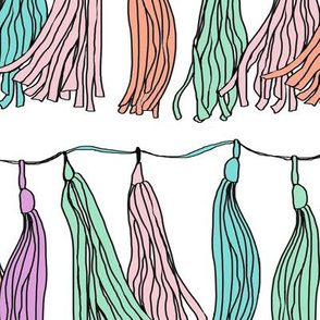 Tassel Garland by Katrina Ward