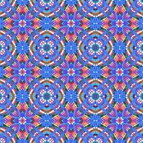Plaid Matrix Rainbow 2