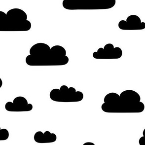 Clouds - Black
