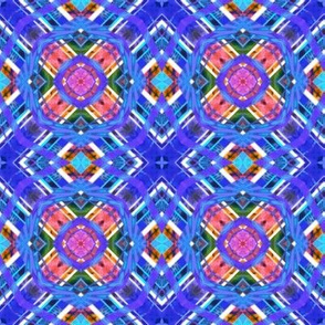 Plaid Matrix Rainbow 2x
