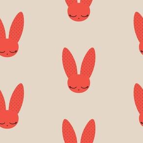Bunnies - Red