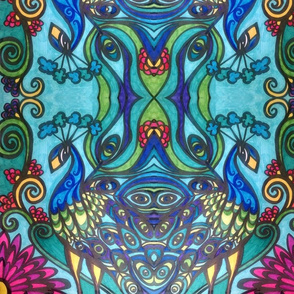 coloring_book_colored_peacock7