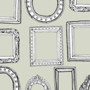picture frames bone