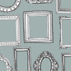picture frames grey