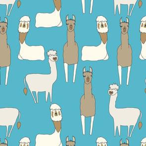 Llama Blue