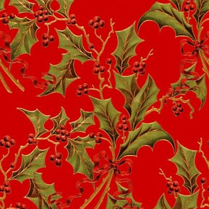 Christmas Holly ~ Richelieu