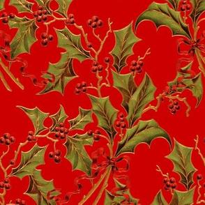 Christmas Holly ~ Richelieu