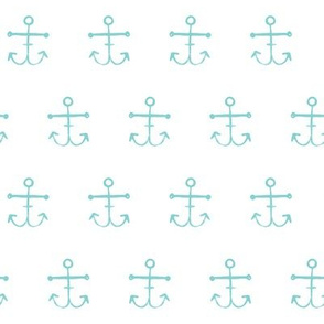 Anchors - Turquoise