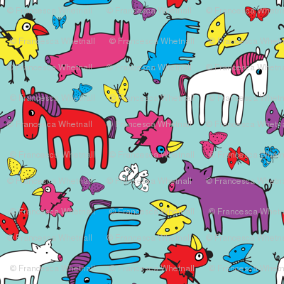 Pigs and Ponies