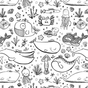 spoonflower-seacritters