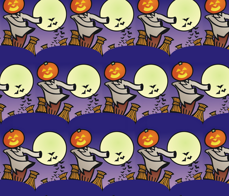 autumnal fabric by hannafate on Spoonflower - custom fabric