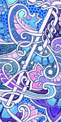Have a Very Blue And  Paisley Day