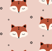 Fox - Old pink
