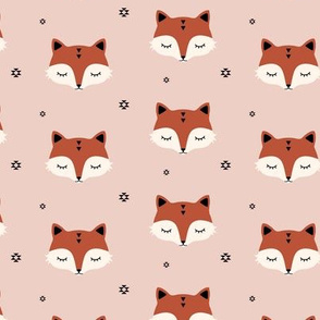 Fox - Dusty pink