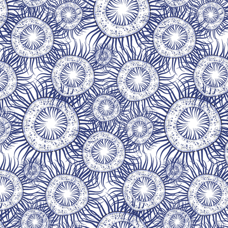 micro_colony_a_white fabric by kgarvey on Spoonflower - custom fabric