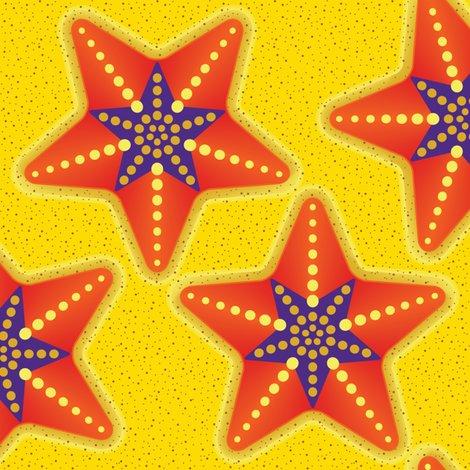 Rrrrrstarfish_star_purple_orange_cut_n_sew_shop_preview