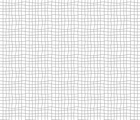 Grey Tiles - Carreaux Gris fabric by minky_gigi on Spoonflower - custom fabric