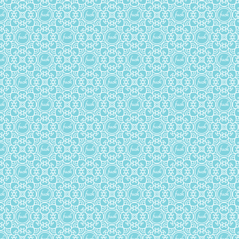 Delicately Speaking Teal 2-Small fabric by shala on Spoonflower - custom fabric