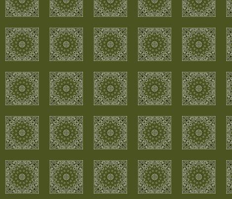 Minidanna A-Army Green fabric by playscalefabric on Spoonflower - custom fabric