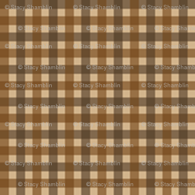 1 6 plaid 3 caf noir sepia tan fabric. Black Bedroom Furniture Sets. Home Design Ideas
