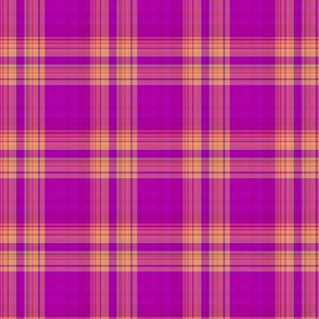 FRUIT SALADE HARMONY PLAID TARTAN 56
