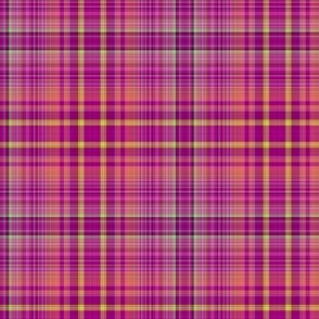 FRUIT SALADE HARMONY PLAID TARTAN 7