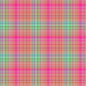 FRUIT SALADE HARMONY PLAID TARTAN 4