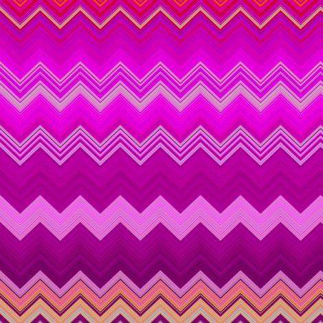 FRUIT SALADE HARMONY CHEVRONS 1 ZIGZAG fabric by paysmage on Spoonflower - custom fabric