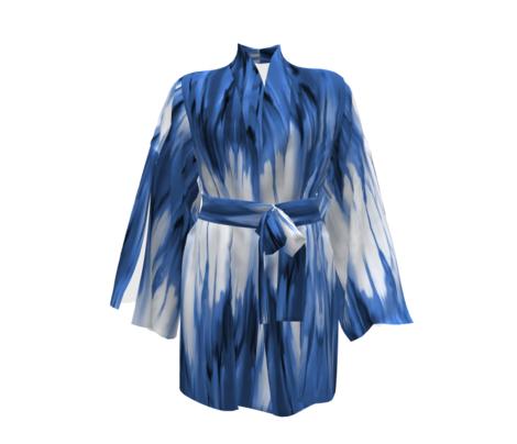cobalt shibori dye