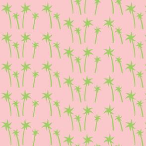 palms -Mix2 MEDIUM petal  kiwi